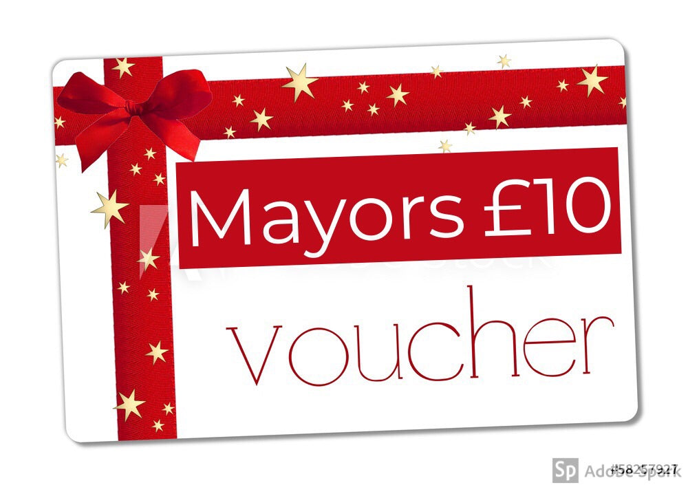 Mayors £10 Gift Voucher