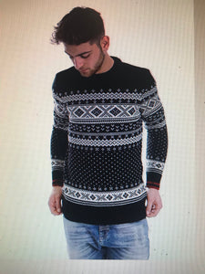 DG Original Farisle Crew Neck Jumper