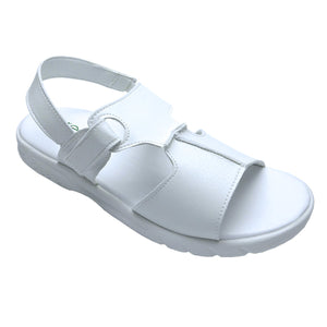 FEATURED: TAYLOR SHEZ LADIES WHITE SANDALS
