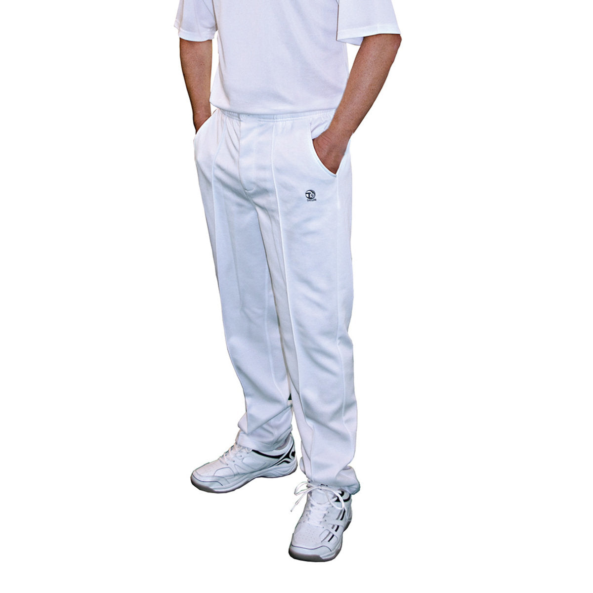 Taylor Gents White Sports Trousers