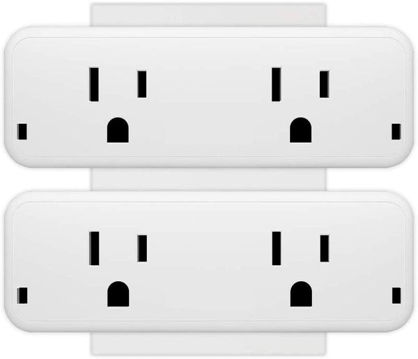 2 In 1 Smart Mini Plug WiFi Wall Socket Available in US