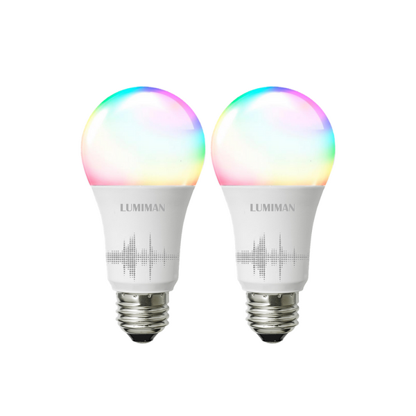 2 Pack Multicolor Bulb