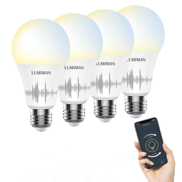 lumiman wifi tunnable smart bulbs