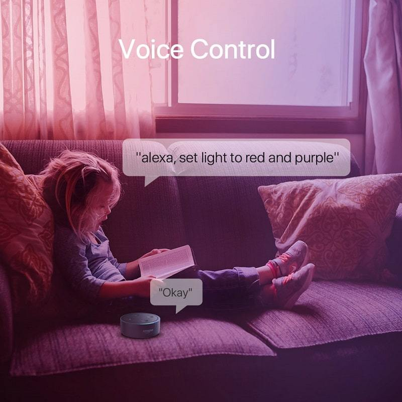 smart led strip light voice control