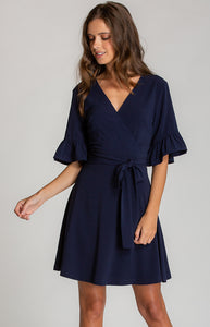Tia & Sia | Blue cocktail dress | online fashion store for women