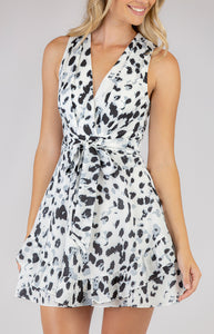 Sammy Leopard Print Dress
