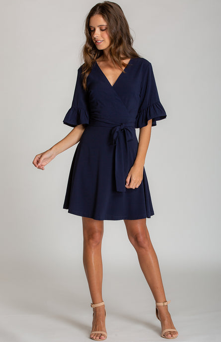Tia & Sia | Ladies navy dress | online women's fashion