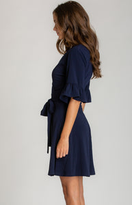 Tia & Sia | Navy blue party dress | Online womens clothing