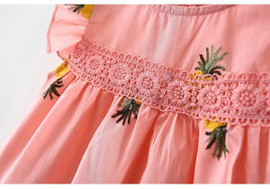 Tia & Sia | Pink dress for baby girls | Baby girl pretty clothing