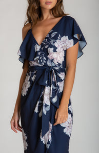 Tia & Sia | Flowing floral cocktail dress | Ladies online fashion