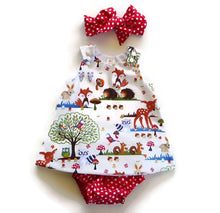Load image into Gallery viewer, Tia & Sia | Baby Girl Clothing | Beautiful dress for baby girls