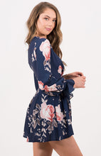 Load image into Gallery viewer, Tia & Sia | Floral playsuit for women
