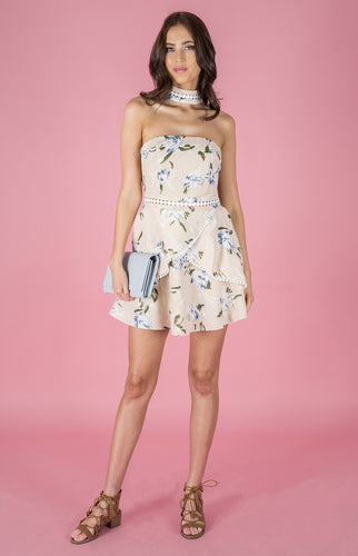 Tia & Sia | Floral Pattern Dress | Ladies online fashion
