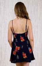 Load image into Gallery viewer, Suzie Midriff Cut-out Floral Dress