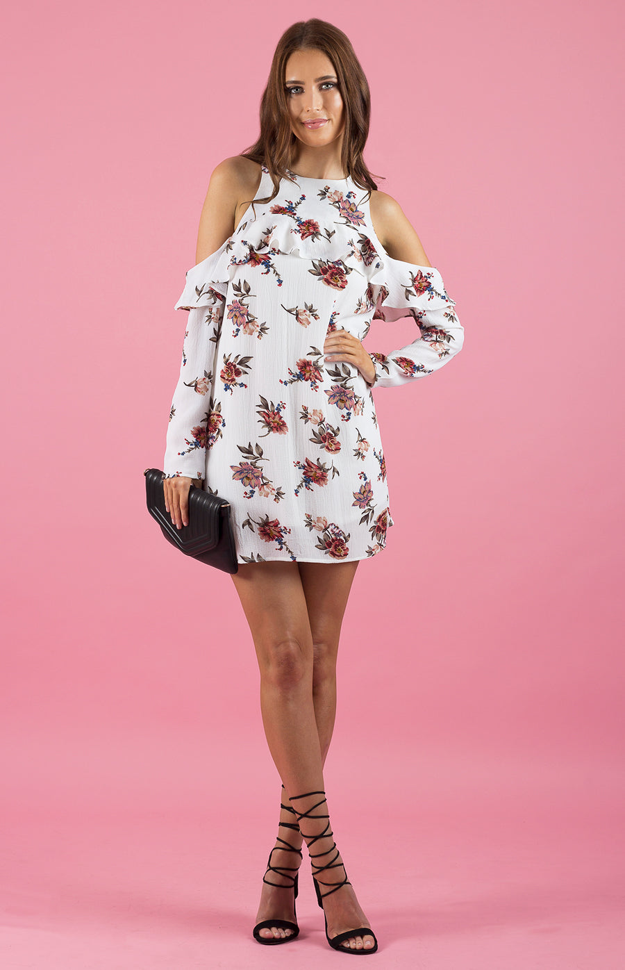 Tia & Sia | Floral off the shoulder dress | Ladies online fashion store