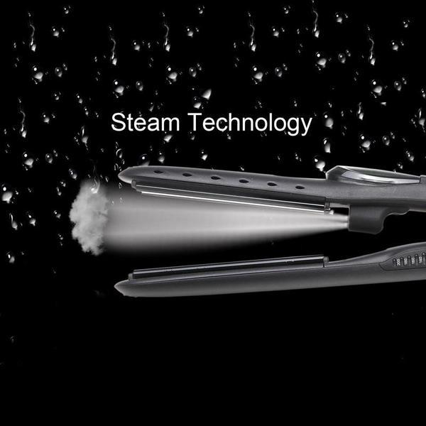 (Free Shipping) 2 IN 1 STEAM Professional Hair Straightener-Exquisite Box