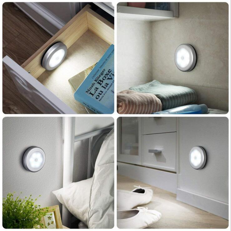 (80%OFF!)6LEDs Motion Sensor Night Light-BUY MORE SAVE MORE!