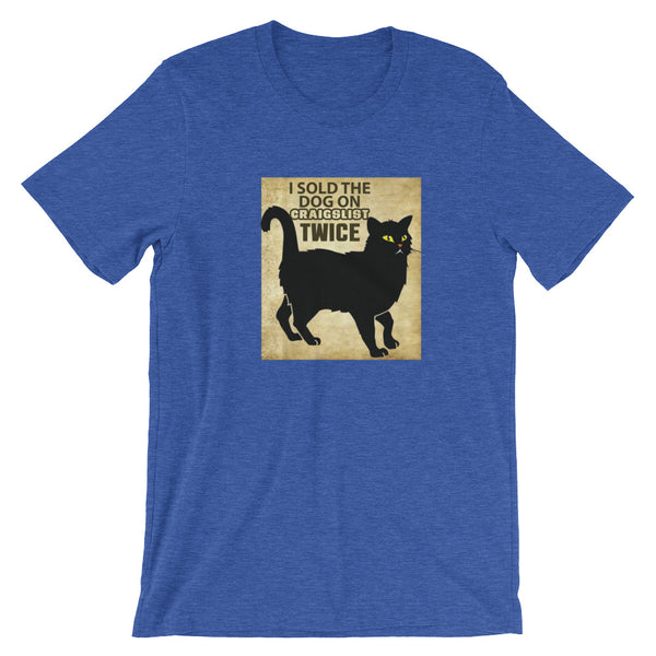 Bad Kitty Short Sleeve T-Shirt Design - Certified227