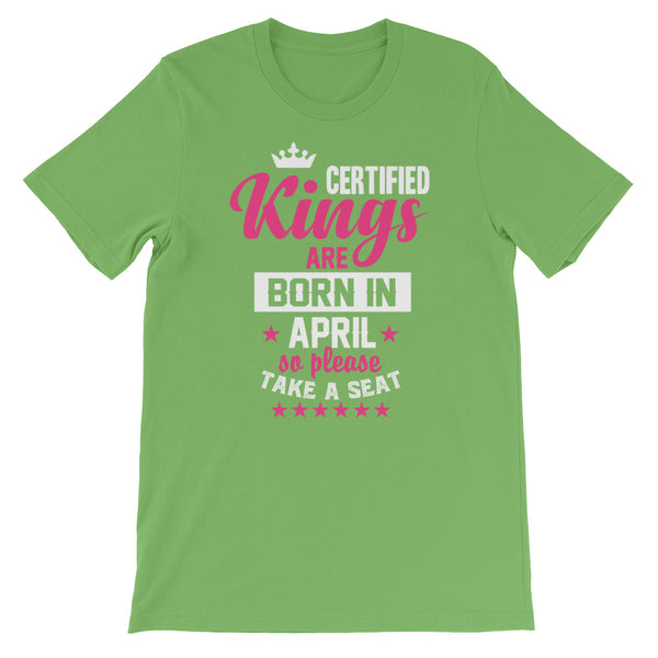 Certified Kings April T-Shirt Graphic Design - Certified227