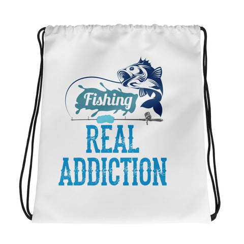 Blue Fisherman Drawstring Bag - Certified227