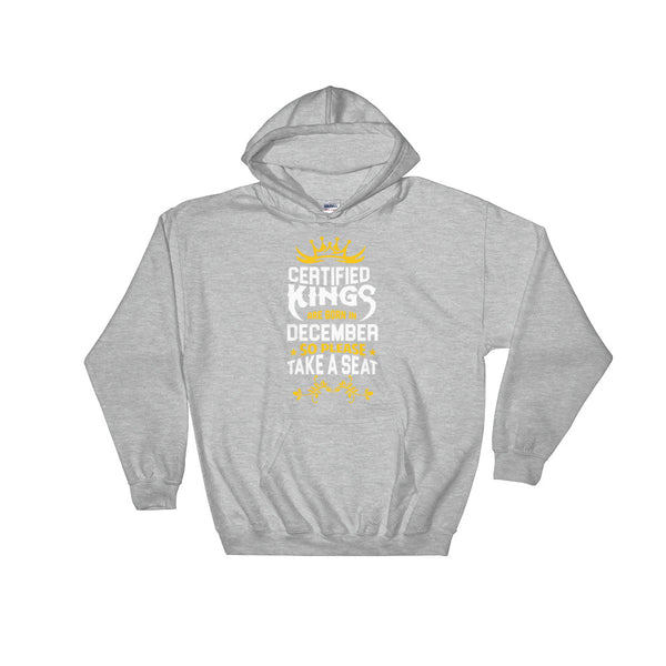 Certified King's December Hoodie Sweatshirt - Certified227