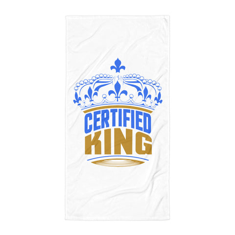 Certified King Beach Towel Design - Certified227