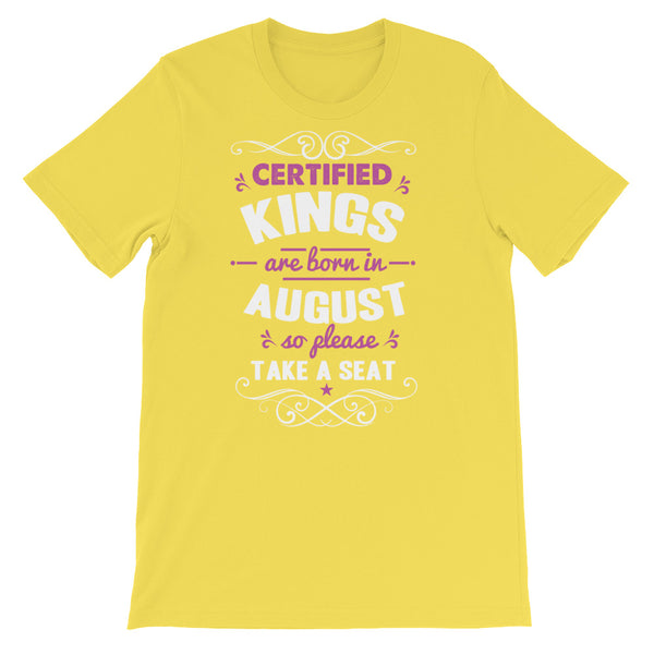 Certified Kings August T-Shirt Graphic Design - Certified227