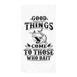 Fisherman Bait Beach Towel Design - Certified227