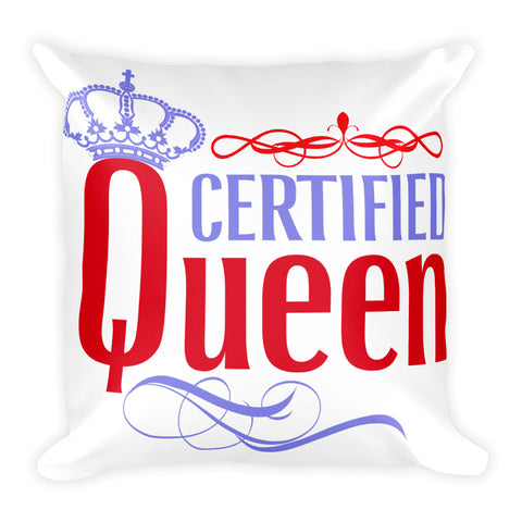 Certified Queen Square Pillow Design - Certified227