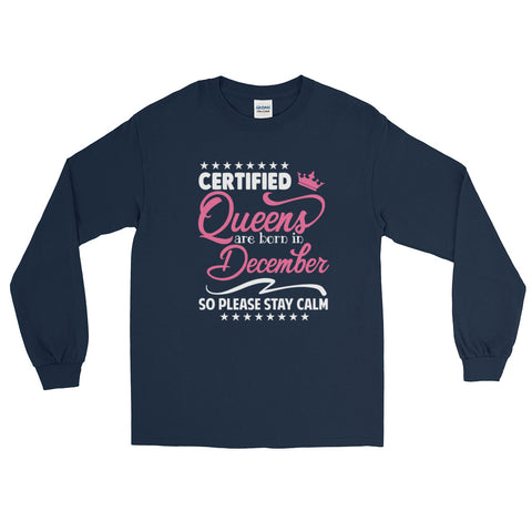 Ladies Long Sleeve December T-Shirt - Certified227