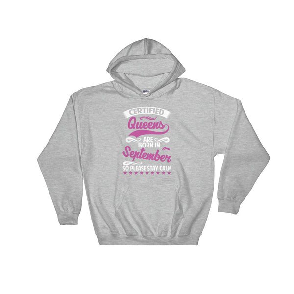 Certified Queen September Hoodie Sweatshirt - Certified227