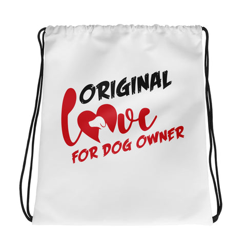 Dog Owners Drawstring Bag Design - Certified227