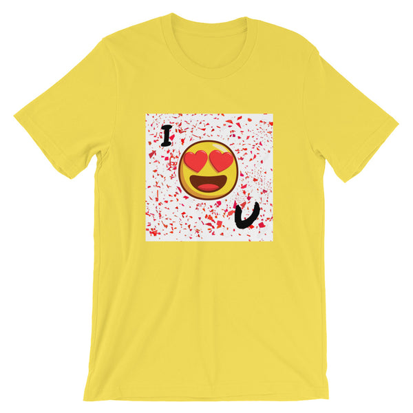 Love You Short-Sleeve T-Shirt-Yellow