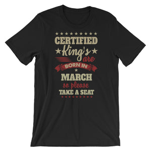 Certified Kings March T-Shirt Graphic Design - Certified227