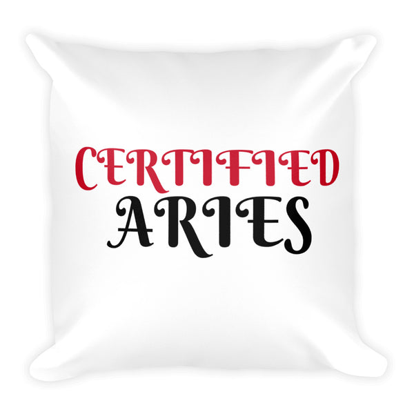 Certified Aries Square Pillow Design - Certified227