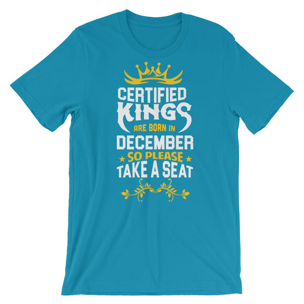 Certified Kings December T-Shirt Graphic Design - Certified227