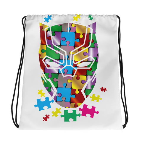 Autism Panther Drawstring Bag Design - Certified227