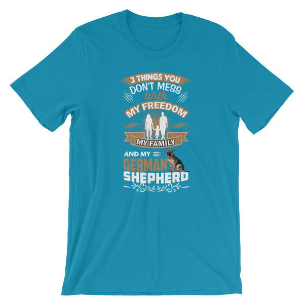 German Shepherd Unisex T-Shirt - Certified227