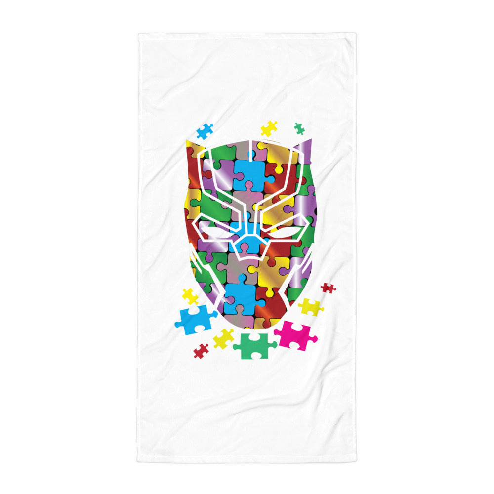 Autism Speak Beach Towel - Certified227