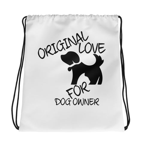 Dog Lover's Drawstring Bag Design - Certified227
