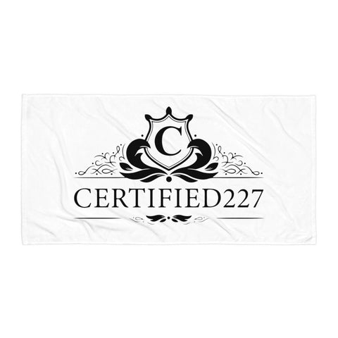 Certified Graphic Towel Design - Certified227