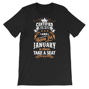 Certified Kings January T-Shirt Graphic Design - Certified227