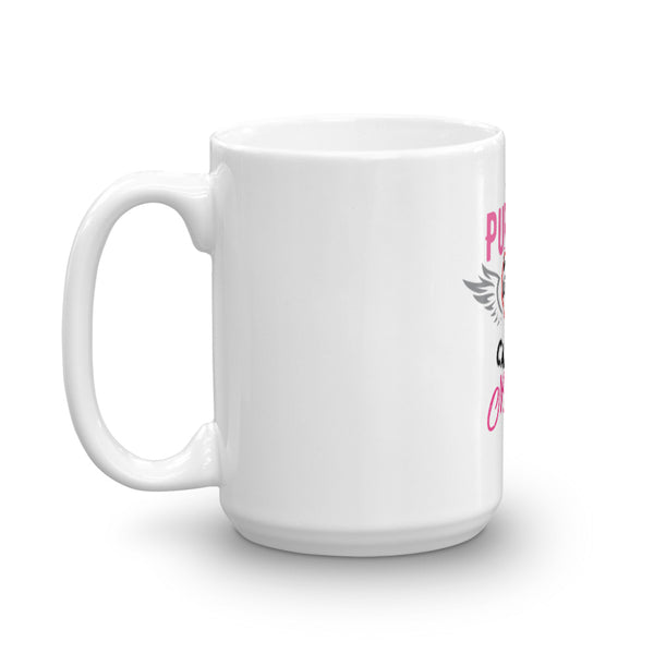 Coffee Mug / My Purpose In Life - White/Pink