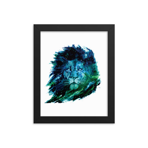 Blue Beast Framed Poster - Certified227
