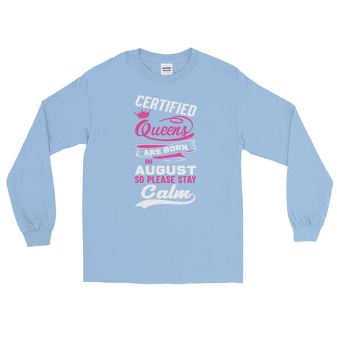 Ladies Long Sleeve August T-Shirt - Certified227