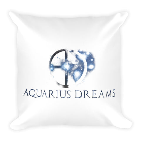 Aquarius Zodiac Graphic Pillow Design - Certified227