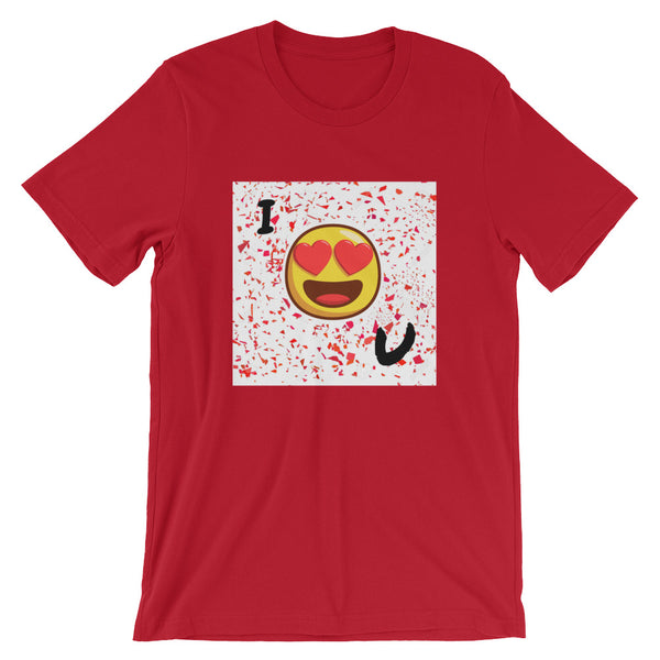 Love You Short-Sleeve T-Shirt-Red