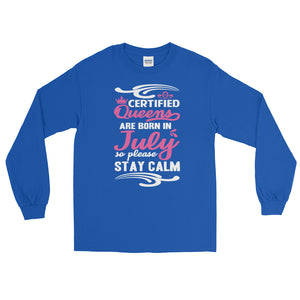 Ladies Long Sleeve July T-Shirt - Certified227