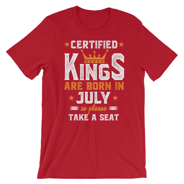 Certified Kings July T-Shirt Graphic Design - Certified227