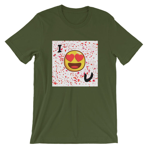 Love You Short-Sleeve T-Shirt-Olive